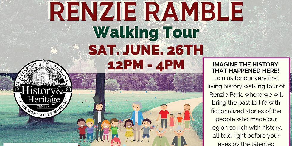 George Washington Slept Here....and other fascinating stories Renzie Ramble Walking Tour