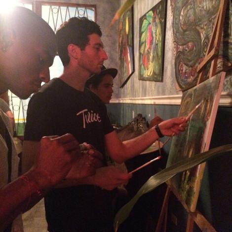 Casco Viejo, Panama City, Panama (Auction Event @Aki Restaurant)