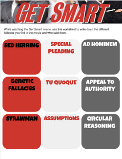 Get Smart Movie Fallacies Worksheet