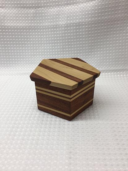Pentagonal Lift Lid Box