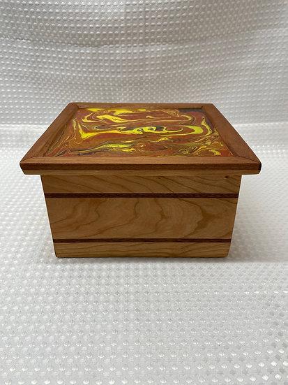 Large Pour Paint Lift Lid Box