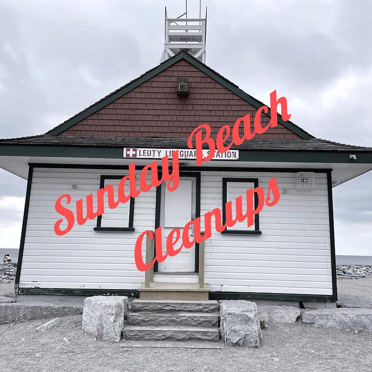 Sunday Beach Cleanups
