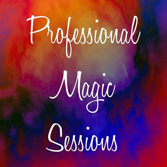 Professional Magic Sessions
