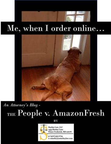 Blog: People v. AmazonFresh