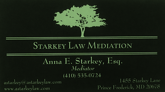 Anna Starkey's Business Card