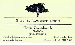 Tessa Grosskurth's Business Card
