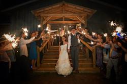 Janica & David's mountaintop wedding