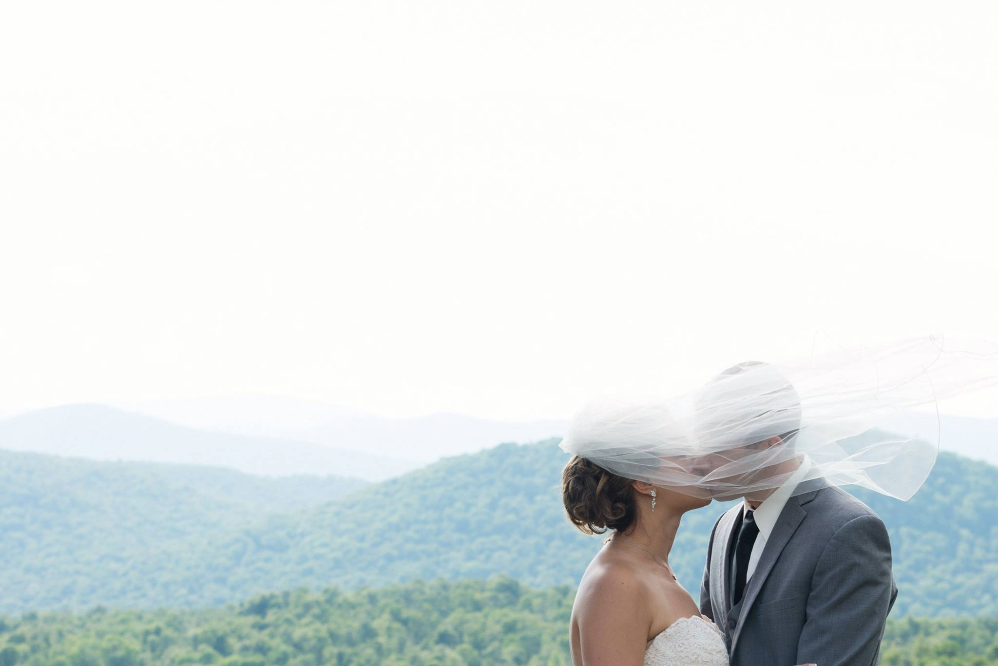 Luella & Brian mountain top wedding