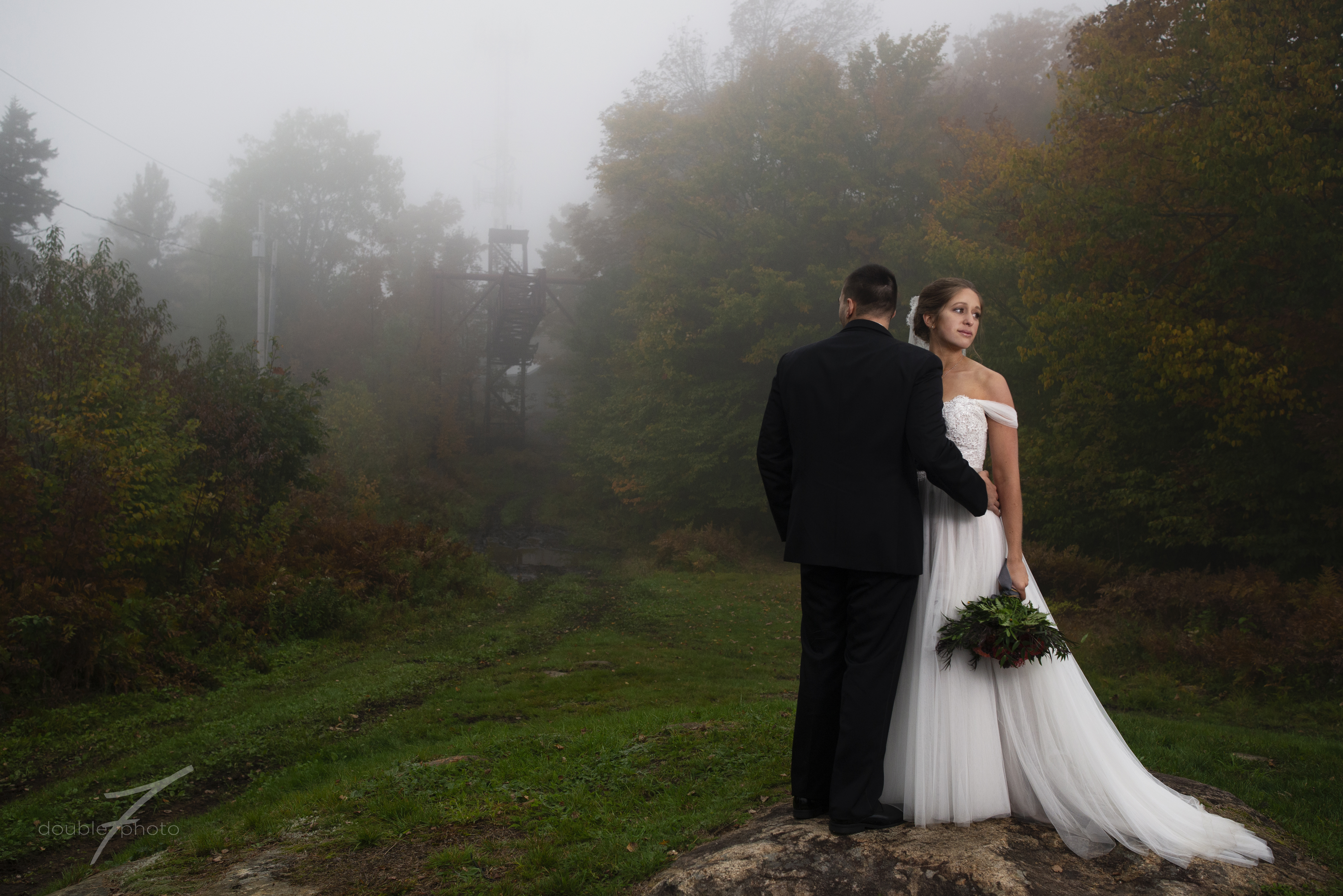 Liz and Matt's Adirondack Wedding