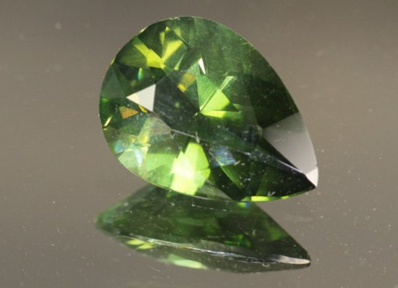 3.7 ct Rare Green Zircon