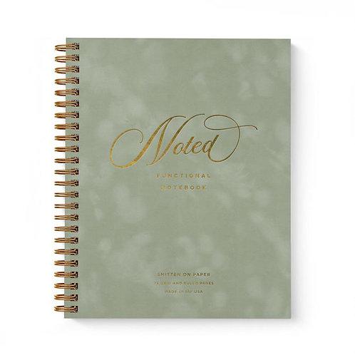 Velvet Notebook Sage