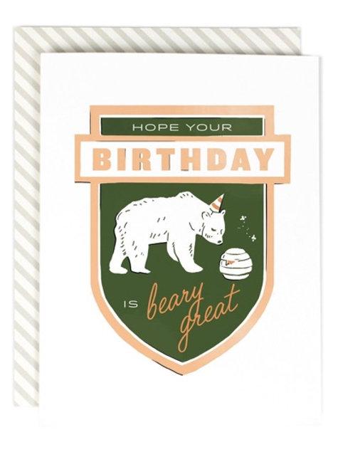 Beary Great Birthday
