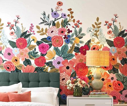 Garden Party Wallpaper Mural