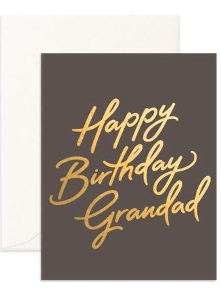 Birthday Grandad