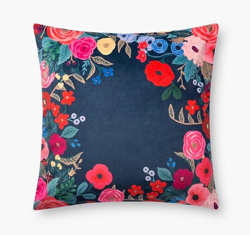 Juliet Wreath Velvet Pillow