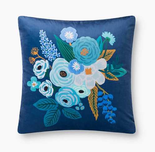 Garden Party Velvet Pillow