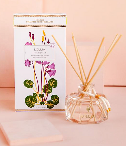 Lollia This Moment Reed Diffuser
