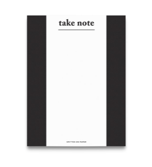 Take Note Chunky Notepad