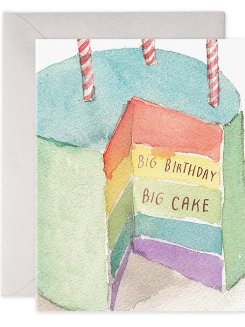 Big Birthday Big Cake