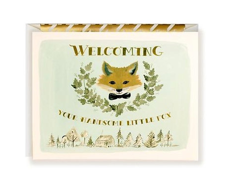 Welcoming Little Fox