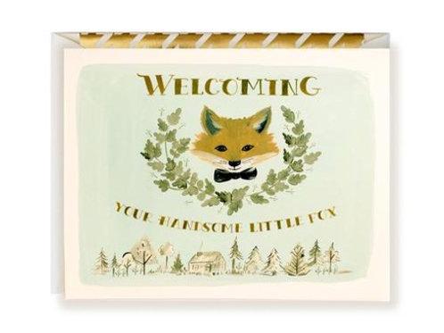 Welcoming Little Fox