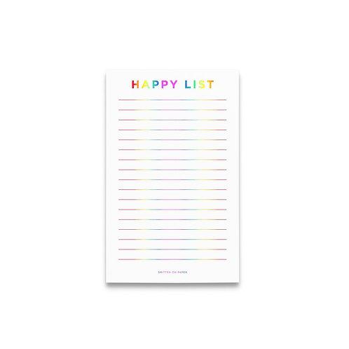 Happy List Notepad