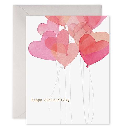 Valentine Balloons Card