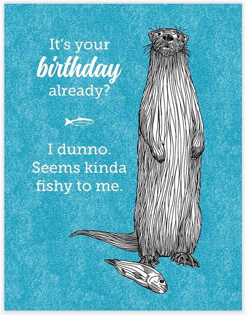 Fishy Birthday