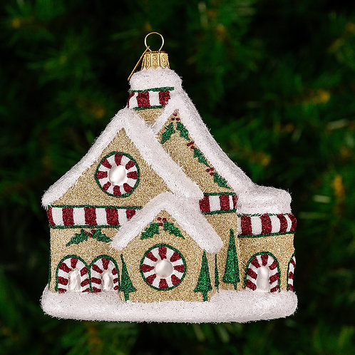 Festive Cottage Ornament