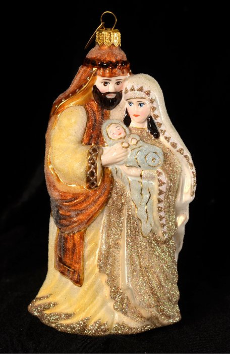 The Holy Family Ornament