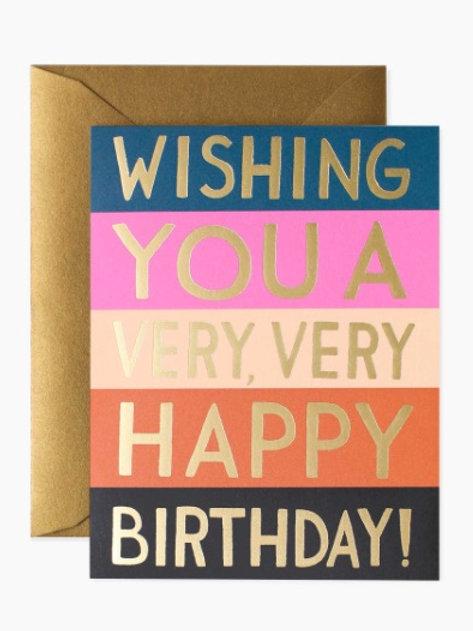 Very Happy Birthday