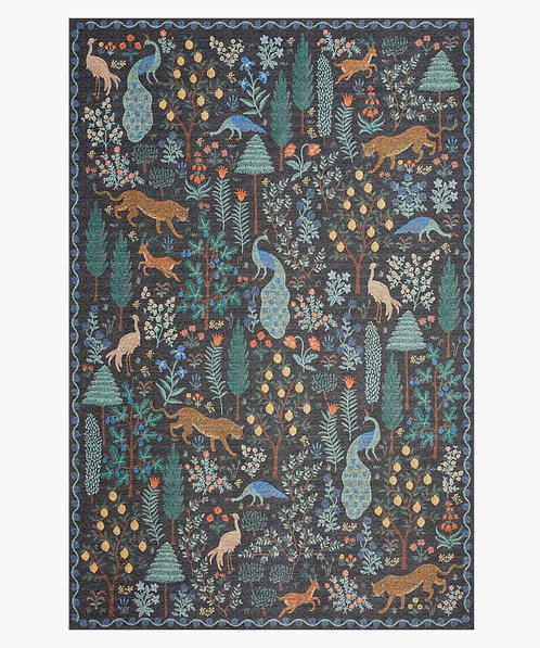 Menagerie Forest Power-Loomed Rug