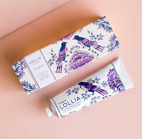 Lollia Imagine Flowering Willow & Lotus Hand Cream