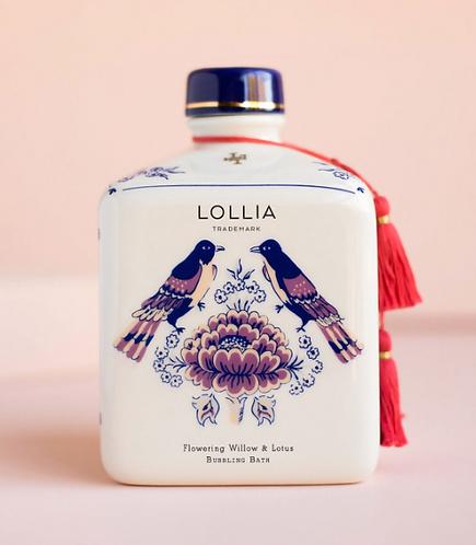 Lollia Flowering Willow & Lotus Bubbling Bath