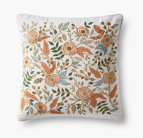 Colette Embroidered Pillow