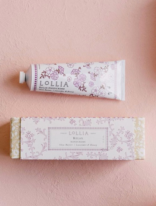 Relax Perfumed Shea Butter Hand Cream