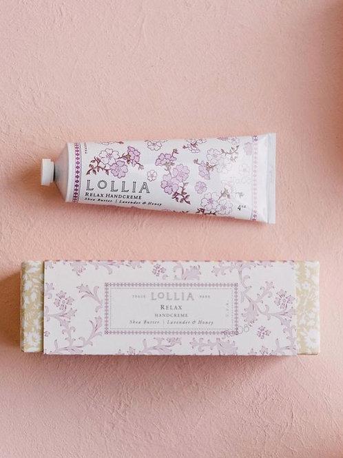 Relax Perfumed Shea Butter Hand Cream