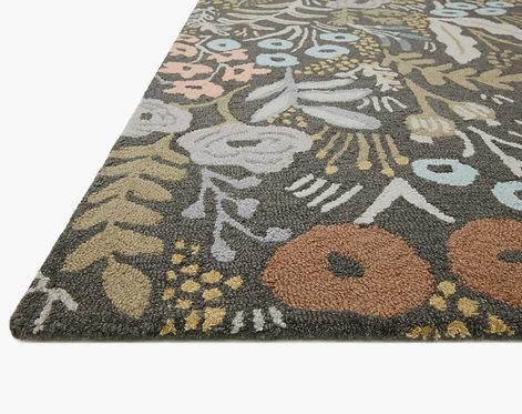 Tapestry Wool-Hooked Rug