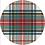 Thumbnail: Dress Stewart Tartan Die-Cut Coasters