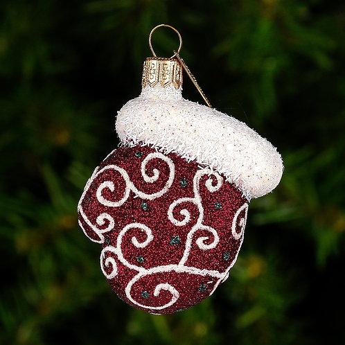 Mini Filigree Mitten Ornament