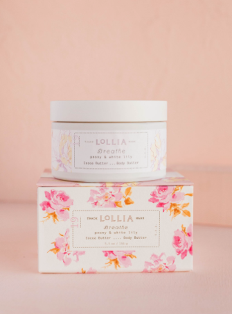 Lollia Breathe Peony & White Lily Body Butter
