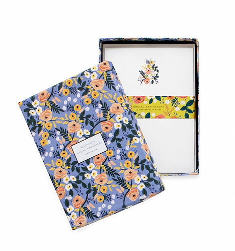 Rifle Paper Co. Violet Floral Everyday Stationery