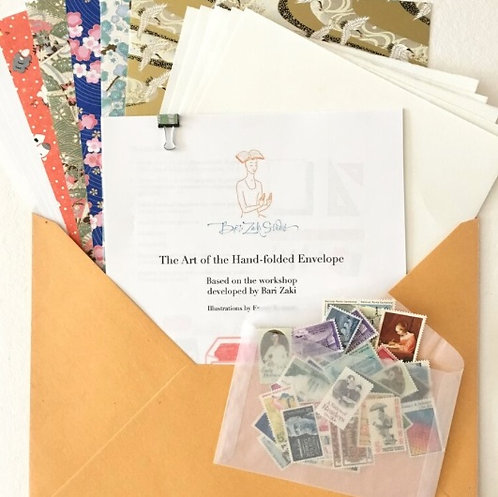Hand Folded Envelope Kit