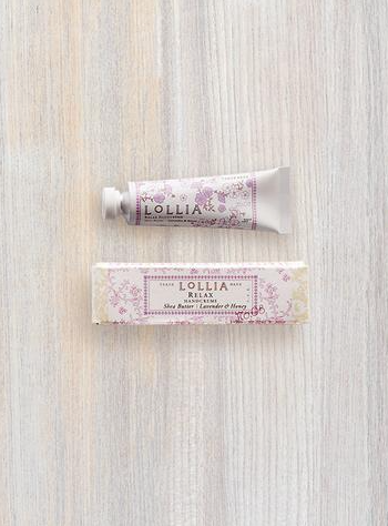 Relax Petite Treat Shea Butter Hand Cream