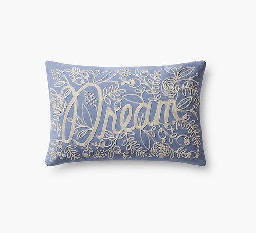 Dream Embroidered Pillow