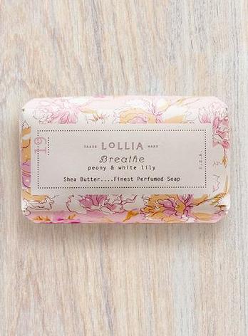 Breathe Perfumed Shea Butter Bar Soap