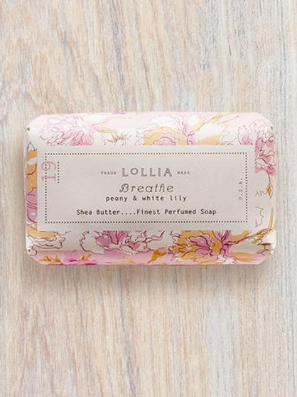 Breathe Perfumed Shea Butter Bar Soap
