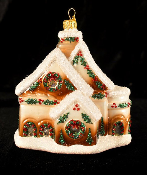 Santa's Chalet Ornament