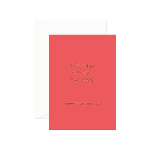 Friendship Valentine's Greeting Card