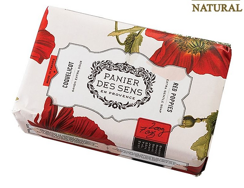 Panier des Sens Red Poppies Soap
